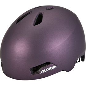 Alpina Hackney Helm Kinder dark-violet